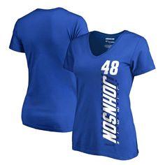 Jimmie Johnson Fanatics Branded Women's Alternator T-Shirt - Royal