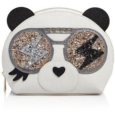 Furla Allegra Medium Panda Cosmetic Case ($125) ❤ liked on Polyvore featuring beauty products, beauty accessories, bags & cases, wash bag, cosmetic bags, makeup purse, make up bag and purse makeup bag