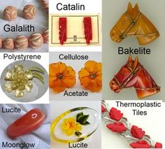 Collectible Vintage Plastic Costume Jewelry Part 2 | Ruby Lane Blog