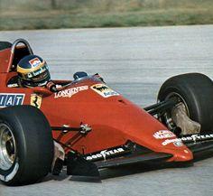 alboreto, 1984 pre season test
