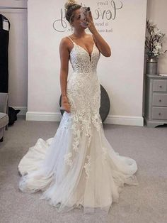 Welcome to our store. We will provide best service and product for you. Please contact us if you need more information than it is stated below .We could make the dresses according to the pictures came from you,we welcome retail and wholesale.A:Condition:brand new ,column ,mermaid or A-line style,Length: Floor lengthFab Bridal Lace, Lace Wedding, Aliexpress, Mermaid Wedding, Backless, Wedding Dresses, Beautiful, Cart, Style