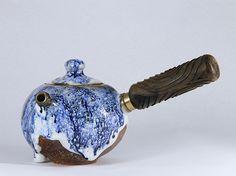 China blue tea pot #art#pottery#ceramics#ru klin porcelain#teaware #agate #handmade ceramics#tea cup#tea-bowls#ceramics arts#ceramics pottery #ceramics bowls#ceramics tea set#china blue