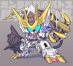Gundam Head, Gundam Wing, Gundam Art, Barbatos Lupus Rex, Blood Orphans, Gundam Iron Blooded Orphans, Gundam Wallpapers, Arte Cyberpunk, Custom Gundam