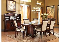 Shop For A Granby 7 Pc Double Pedestal Diningroom At Rooms To Go Find Dining