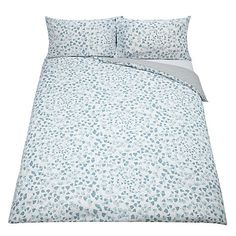 Buy MissPrint Fern Duvet Cover and Pillowcase Set, Lighthouse Online at johnlewis.com