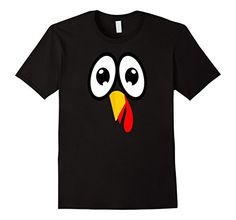 Adorable 2-Sided Turkey Tee for Thanksgiving. Cute kids shirt for turkey day.  http://amzn.to/2ellAze