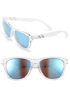 Men's Blenders Eyewear 'Natty McNasty - L Series' 69mm Sunglasses - Blue/ Clear