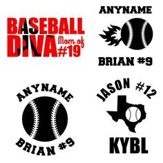 Anchor Monogram Custom Vinyl Decal Sticker Vinyls Vinyl Decals - Custom vinyl baseball decals