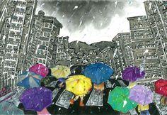 김수연-비오는날