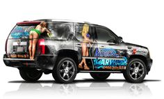 GRAPHIC DESIGN VEHICLE WRAPS | Graphics Design. Building & Vehicle Wraps for 918 Advertising.
