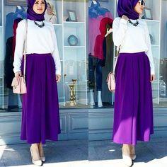 Astuces et tutorials Hijab moderne en photos, mode de hijab styles fashion, modèles pour mettre voile mariage : Foulard simple.