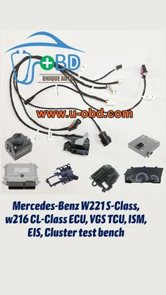 Mercedes Benz, Automotive Locksmith, Cluster, S Class, Things To Buy