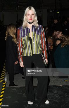 Harriet Verney attends the Henry Holland show during London Fashion... News Photo   Getty Images