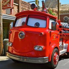 Cars Land at California Adventure Disneyland Today, Disneyland California Adventure, Vintage Disneyland, Disney Rides, Disney Pixar Cars, Disney World Florida, Walt Disney World, Ambulance, Cars Land