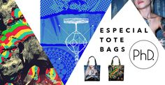 Especial Tote Bags. #phdgaleria #phd #totebags #fridom