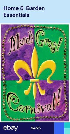 Mardi Gras # 10 - 8 x 10 Tee Shirt Iron On Transfer Beads Flag Decor, Art Decor, Mailbox Covers, Mardi Gras Beads, Outdoor Gifts, Custom Flags, House Flags, Flag Design, Party Planning
