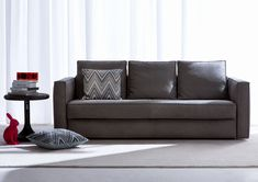 Idea Modern Leather sofa Bed Photos fashionable modern leather sofa the home redesign Leather Sofa Bed, Black Leather Sofas, Leather Sectional Sofas, Leather Furniture, Contemporary Leather Sofa, Modern Sofa, Bed Photos, Deep Seat Cushions, Sofa Design