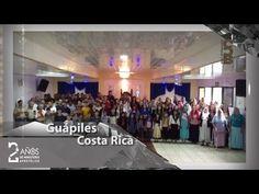 Guápiles, Costa Rica felicita al Apóstol de Jesucristo. - YouTube