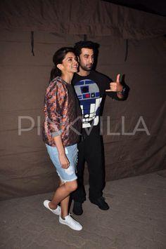 Ranbir Kapoor & Deepika Padukone at Mehboob studios!