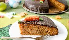 Karottenkuchen mit Schokoladenglasur Low Carb. Ein fantastischer Low Carb Kuchen der nicht nur für die Osterfeiertage geeignet ist