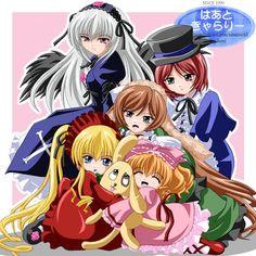 Las muñecas Rozen Maidens
