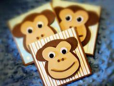 Items similar to Handmade Monkey Invitations dozen) on Etsy Monkey Invitations, Handmade Invitations, Invites, Invitation Ideas, Monkey Birthday Parties, Birthday Party Themes, Birthday Ideas, Party Games, Holiday Cards