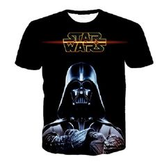2feab1c08cc Sondirane Star Wars Darth Vader Printed Short-sleeved T-shirt Men women  Fashion Crewneck T Shirt Hip Hop Tops Tees Clothing