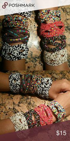 Beaded bracelet Multi colored bracelets buy all or just one $15 each Jewelry Bracelets