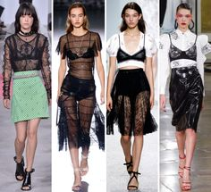 The Top 23 Trends, Ideas, and Styling Tricks We Loved from Spring 2017 PFW Fashion 2017, Fashion Tips, Fashion Trends, Spring Tops, French Fashion, Bra Tops, Couture, Outfits, Bustier Top