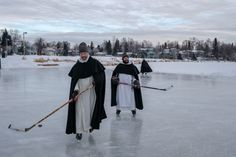 Ordo Praedicatorum   Gavin Duncan  Our ministry as Dominican brothers extends even to the frozen lagoons of Alaska!