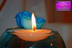 vela flotante para peceras para boda ALUZZA by aluzzaflick, via Flickr