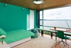 Love the view... And color. Found on Zillow Digs