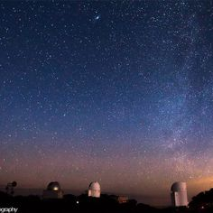 "Milky Way Sunrise""    Milky way and Andromeda galaxy fading away during sunrise at Kitt Peak National Observatory in Tucson, Arizona.    Image Credit : Sean Parker Photography    Camera Details:  Canon T3i 16mm f/2.8 ISO 1600 — at Kitt Peak National Observatory."