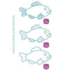 Pourquoi ne proposeriez-vous pas à vos enfants de créer des poissons après les avoir imprimé, ils pourront ainsi les colorier pour le 1er avril grâce au DIY & Activités Manuelles enfants proposé par Plus de Mamans. Comme chaque 1er avril, les enfants aiment confectionner des poissons d'avril à coller dans le dos de tout le monde. Alors imprimez – ici …