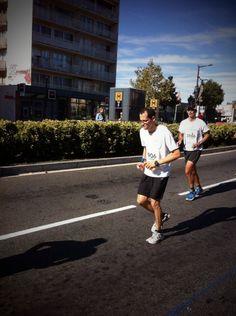 Marathonien, bravo Adrien!