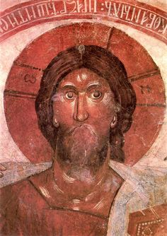 Icon of Christ - Theophanes the Greek detail | Theophanes the Greek in 1378