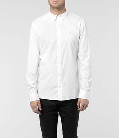 Mens Champion Shirt (Black Check) | ALLSAINTS.com | If Only I ...