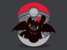 How to catch your dragon. A fun play on Pokemon ... How to train your dragon…