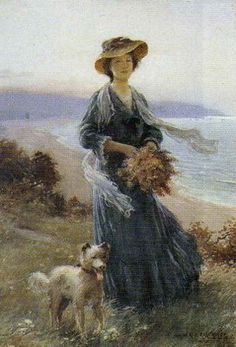 Gathering Ferns ~ William Kay Blacklock ~ (British 1872-1924)