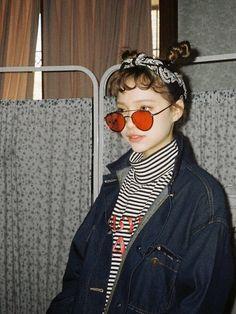 빡시한 줄무늬 tee | top | 아이스크림12icecream12 - image #5171881 by 577253246 on Favim.com | kfashion, asian fashion and kstyle