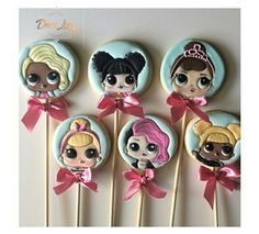 Lol Surprise Birthday Party. Lol Surprise Dolls, sugar cookies. 10th Birthday Parties, Surprise Birthday, Tea Party Birthday, Birthday Cookies, Girl Birthday, Iced Cookies, Cute Cookies, Sugar Cookies, Doll Party