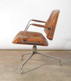 Preben Fabricius and Jorgen Kastholm • Office Chair