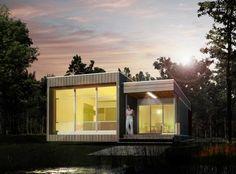 Custom Prefab Residence - Modern - Exterior - Santa Barbara - Acme ...