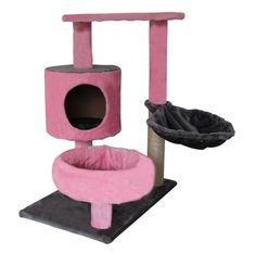 "High Quality Cat Tree 30"" Furniture Scratching Pet House 6009-0003 #Exacme  Also has beige  Total Height	30"" Size of Base Plate	15.75""x23.62""  $34.90 free shipping"
