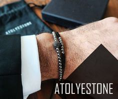 Stylish black is ultimate quality of men to get a sharp look and to be noticed at anytime. http://atolyestone.co.uk/collections/macrame