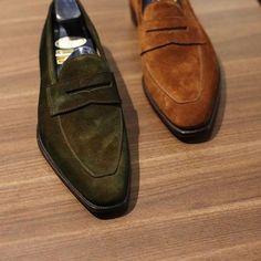Suede Loafers , Men´s Footwear