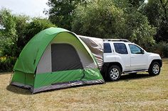 Napier Outdoors Backroadz 13100 SUV Tent - Turn your minivan or SUV into part of the ultimate camping experience with the Backroadz 13100 SUV Tent. With a large, comfortable x bas. Truck Camping, Family Camping, Tent Camping, Camping Gear, Outdoor Camping, Outdoor Gear, Camping Outdoors, Camping Hacks, Camping Trailers
