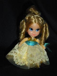 Vintage RARE Beige Lace Liddle Kiddles Tea Party Lady Lace Doll Dishes Little | eBay