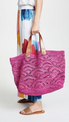 Mar Y Sol Tulum Tote – crochet bag – Sparen Mode Crochet, Crochet Shell Stitch, Crochet Tote, Crochet Handbags, Crochet Purses, Bead Crochet, Purse Patterns, Crochet Patterns, Tote Pattern