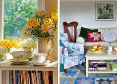 English Country Style House Interiors   Country homes in England   Beautiful Homes of England